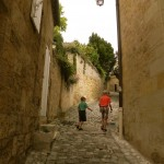 "These alleys in St Emilion are called ""tertres"" in French - but only there."
