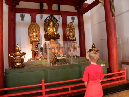 Japanese Buddhist temple at the Penn Museum