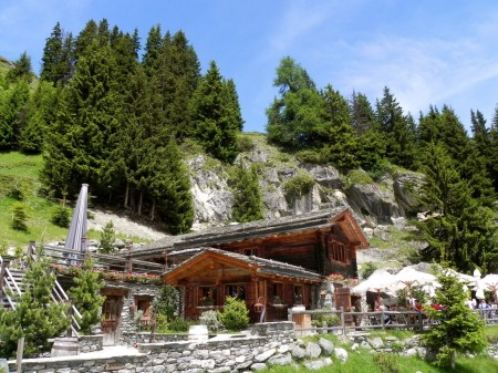 Le Marlenaz restaurant in Verbier, Switzerland