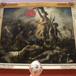 Liberty Leading the People at the Louvre Museum in Paris