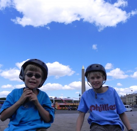 Best of France: Cycling Paris with kids