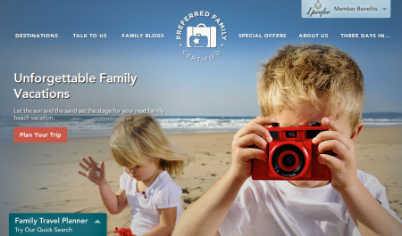 A family travel planner resource: Preferred Family