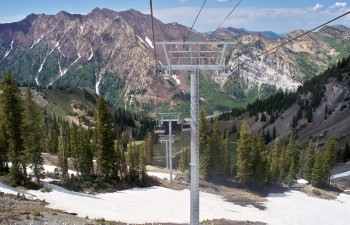 Snowbird top mountain resort