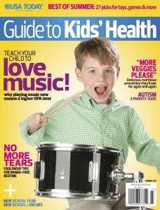 USA Today Kids' Health Magazine cover
