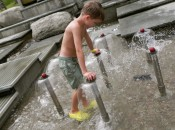 Vermont with kids: Water play at the Montshire Museum of Science