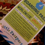 The Little Passports boarding pass gives access to online activities