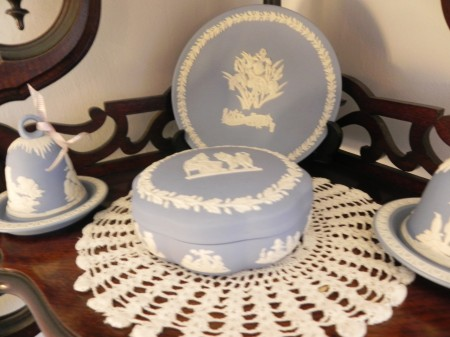 I'm especially partial to the traditional blue Wedgwood myself