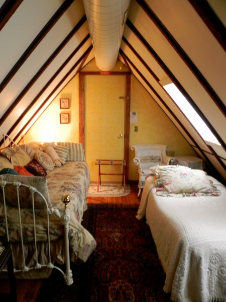 One of the bedrooms is perfect for kids