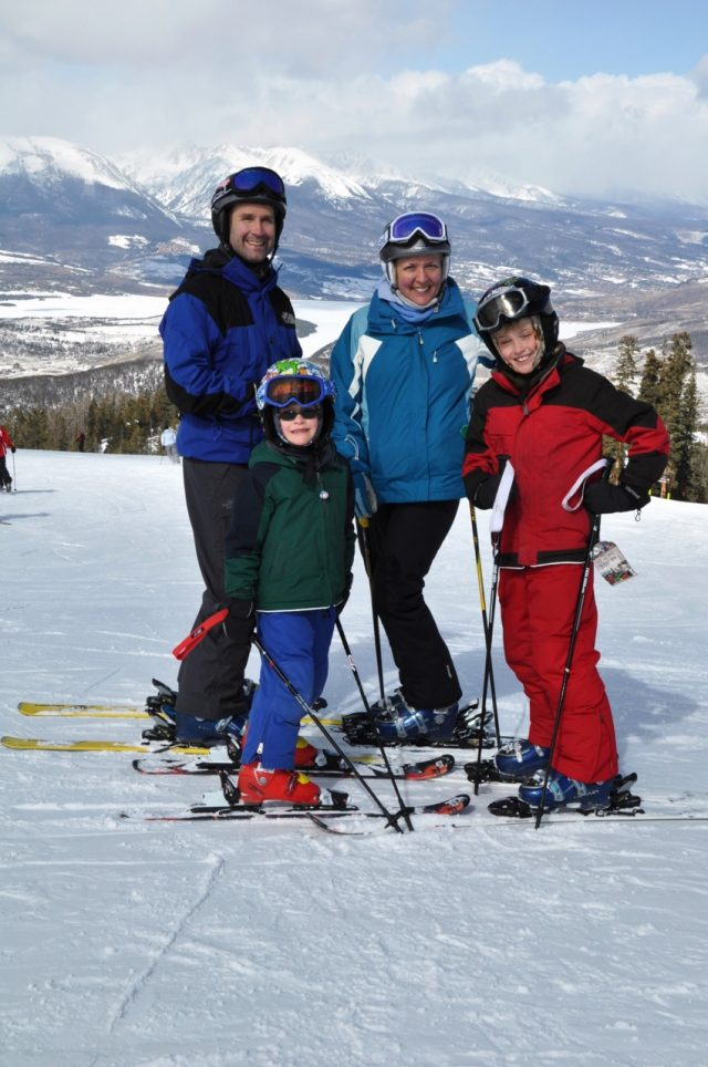 Ski with kids at Keystone Resort in Colorado