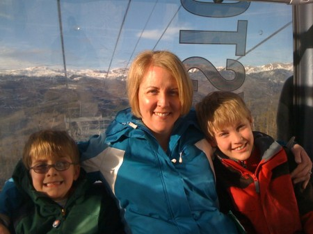 Riding the Keystone gondola