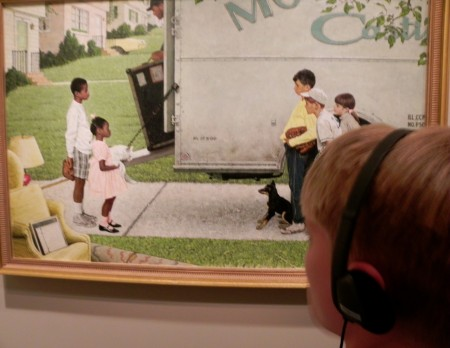 Norman Rockwell painted his concern for civil rights in the 1960s