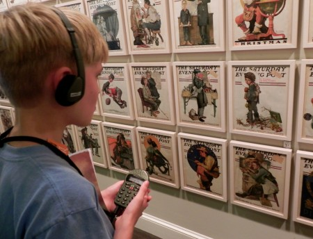Saturday Evening Post covers at the Norman Rockwell Museum