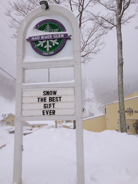 Mad River Glen sign