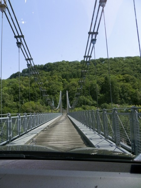 I still couldn't tell you where in France this bridge is.