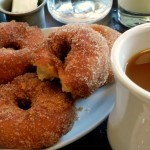 Apple cider donuts at the Red Owl Tavern are a real treat