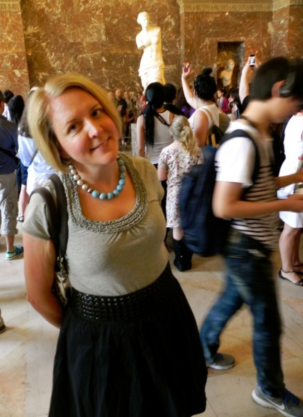 Here I am, a little stressed out at the Louvre in 2012.