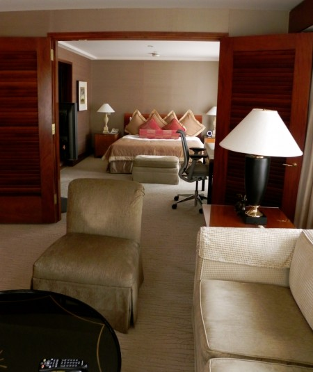 This suite adjoined ours - just a little bit of room eh?