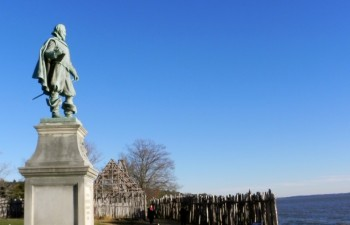 Statue of John Smith in Jamestown