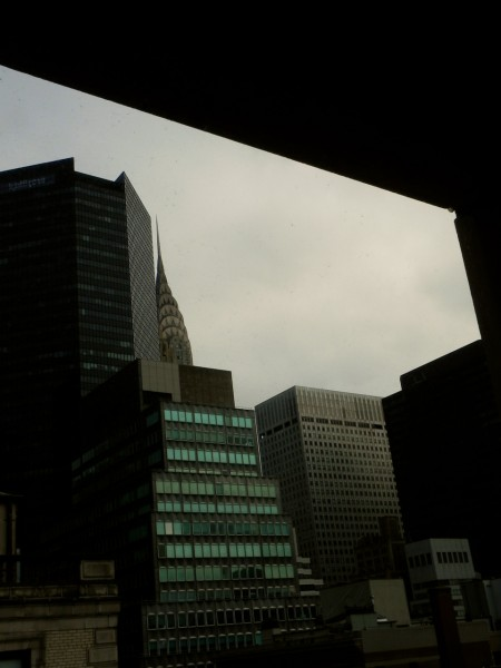 You could see The Chrysler Building from our closet!