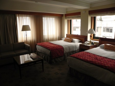 The Premier Rooms at The Kitano offer plenty of space fro families