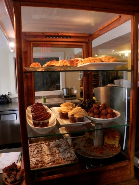Baked treats at The Sweet Spot near Sugarbush, Vermont