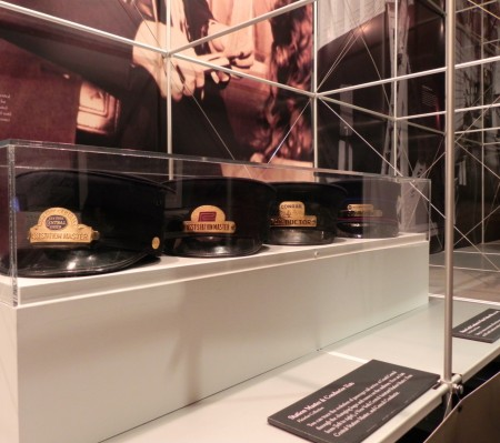 See artifacts from railroad history at Grand Central Station.
