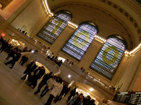 Grand Central Terminal is 100 years old in 2013.