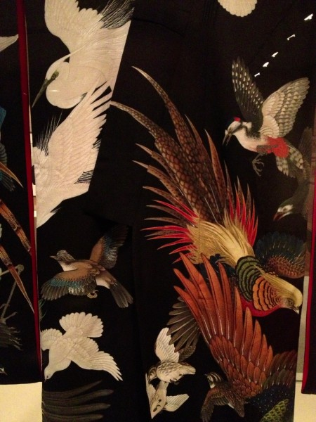 I loved the birds on this kimono.