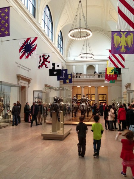 The restored Hall of Arms and Armor at the Metropolitan Museum of Art.