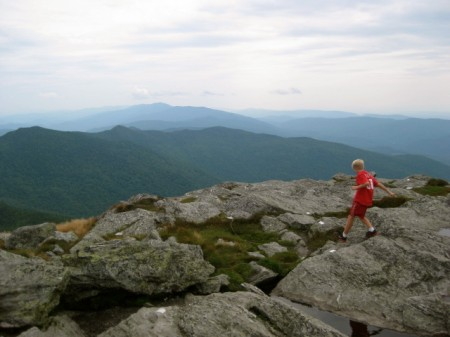 The edge of Camel's Hump