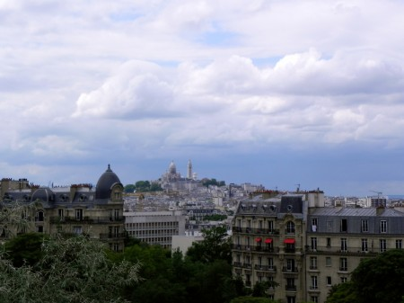 I loved the view of Sacré-Coeur from the Belvedere