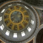 The ornate Church of the Dome is very beautiful