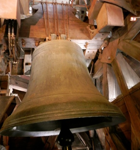 This bell is named Emmanuel and it was made in the 17th century
