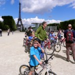 Cycling Paris with kids