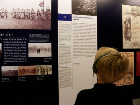 The exhibit about the world wars at Invalides is comprehensive and fascinating