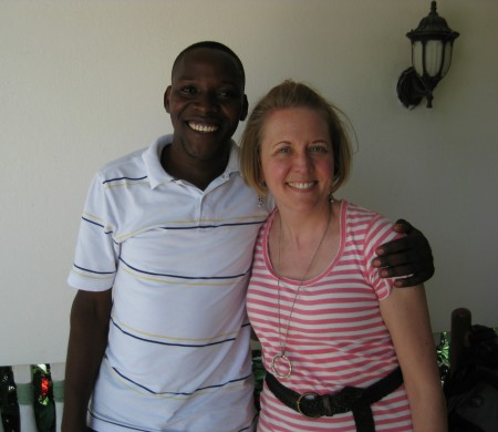 Ben was our translator in Haiti.