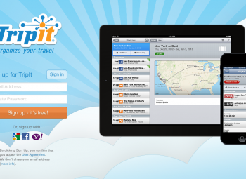 TripIt creates itineraries automatically for all of your travel