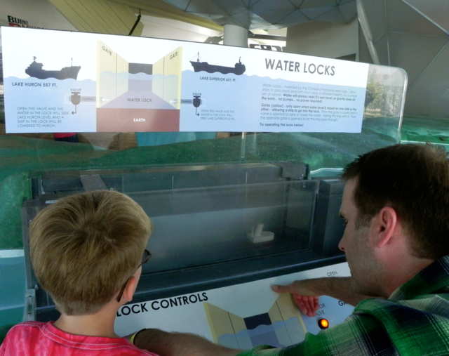 Checking out how locks work at Discovery World