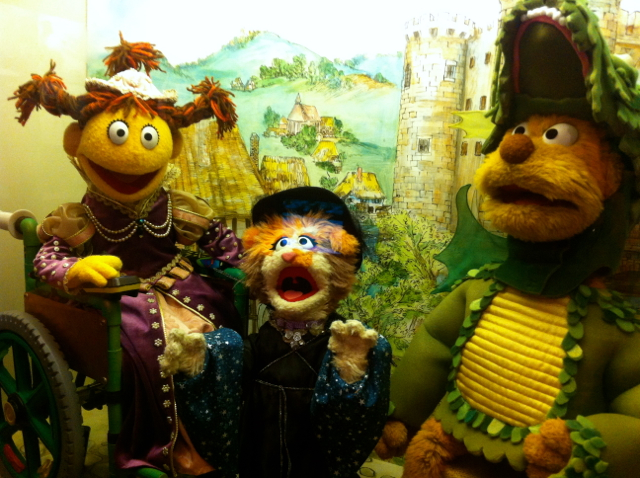 Canadian muppets - as an American, I don't know who any of these characters are.
