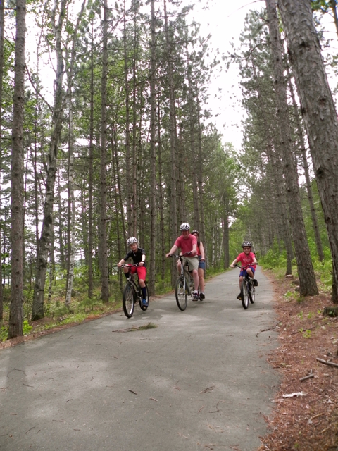 Biking with kids is fun for the whole family