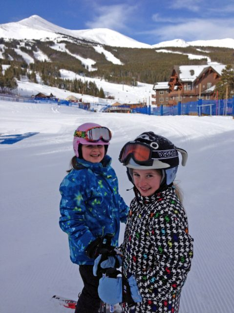 Kids ski Breckenridge Resort