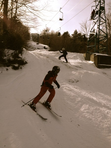 Mad River Glen skiing
