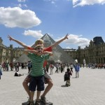 Visiting the Louvre with kids