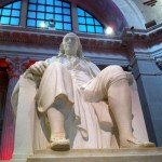 Franklin Institute Ben Franklin Memorial