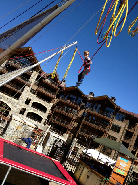 Northstar at Tahoe bungee