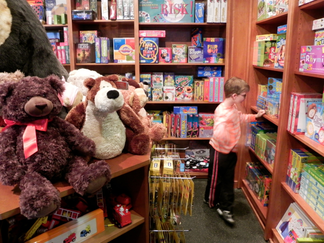 Northstar at Tahoe toy store