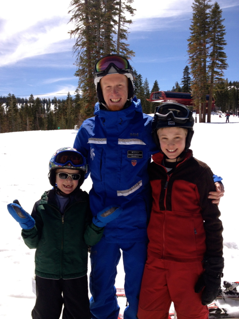 Northstar Resort ski instructor