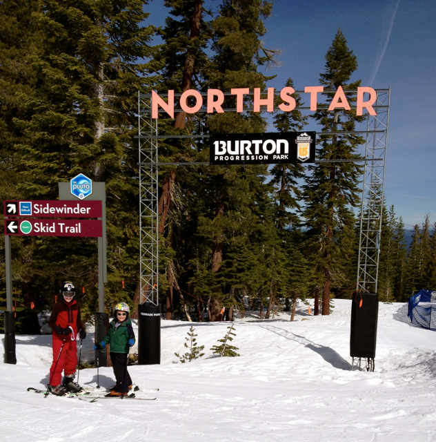 Terrain park Northstar Resort