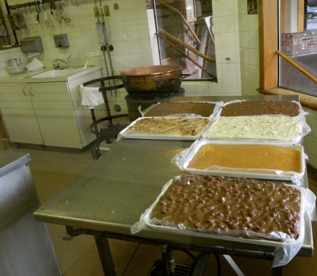 Sweets handmade fudge in Truckee
