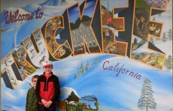 Truckee with kids